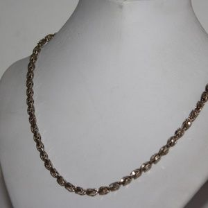 Jewelry - Heavy Vintage .925 sterling necklace 30 inches!